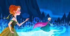 "Frozen"" Sets Bar for Classic Disney Princess Formula   Gagging on ..."
