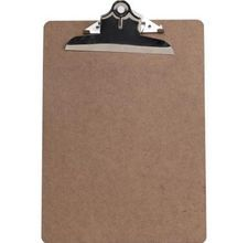 Step by step instructions for decoupaging clip boards