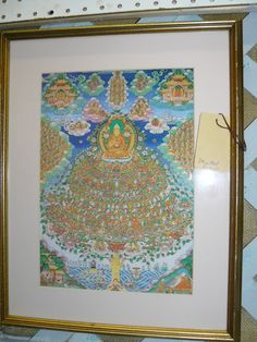 Buddha Art Prints at Scranberry Coop Antiques Store in Andover NJ