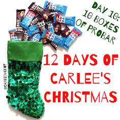 be the change: Day 10 of 12 Days of Carlee's Christmas