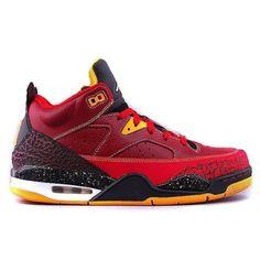 Jordan Son of Mars Low Basketball Shoe - Team Red/Gym Red/University Gold