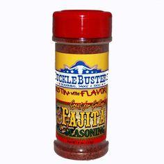 SuckleBusters Fajita BBQ Seasoning Rub - 4 ounce