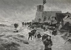 Image result for Paintings of the great flood
