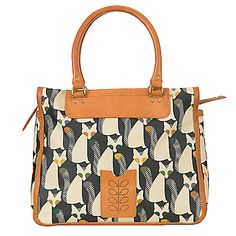 Orla Kiely Cute Fox Print Tote Handbag Forest Online At Johnlewis