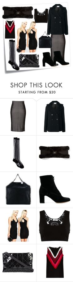 """""""fashion for your choice"""" by denisee-denisee ❤ liked on Polyvore featuring Post-It, Tamara Mellon, T By Alexander Wang, KTZ, Australia Luxe Collective, STELLA McCARTNEY, Tabitha Simmons, Boohoo, Amir Slama and Bao Bao by Issey Miyake"""