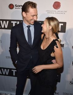 Cozy co-stars: Tom Hiddleston and Elizabeth Olsen appeared delighted to be together at the premiere of the Hank Williams biopic I Saw The Light in Nashville, Tennessee, on Saturday night The Avengers, Marvel Actors, Marvel Dc, Marvel Comics, Elizabeth Olsen Gif, Elizebeth Olsen, Lara Pulver, I Saw The Light, Press Tour
