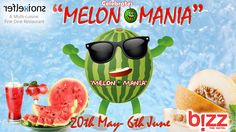 """Few things shout out the coming of summer quite like the arrival of """"MELONS"""".   #Hotels #Summer #Bizzhotel #Friends #Family #Rajkot #Food #Event #FoodFestival #Restaurant #Gujarat #Localfood #SummerDrinks #Drinks  Book Your Table Call Us 9979841883"""