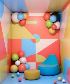 Ana De Santos is a Spanish interior designer who creates beautiful interior graphics with a voyeur attitude. Spanish Interior, Kids Pop, Cool Kids Rooms, Diy Handbag, Work Inspiration, Miniture Things, Teaching Art, Kids Decor, Installation Art