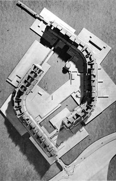 Residential Unit Plan  (Kenzo Tange w/ Students of MIT, 1959)