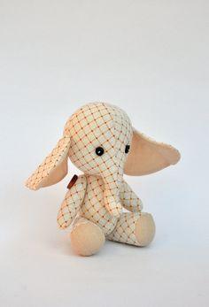 Elephant+dollplush+elephant+elephant+rag.Handmade+by+NilaDolss