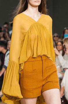Chloé at Paris Spring 2015 (Details)