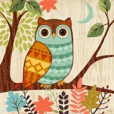 CounterArt Woodland Friends Owl Absorbent Coasters, Set of 4 Owl Bird, Bird Art, Owl Artwork, Whimsical Owl, Owl Always Love You, Owl Crafts, Cute Owl, Rock Art, Painted Rocks