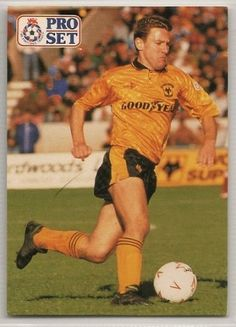 Robbie Dennison of Wolves in Football Cards, Baseball Cards, Wolverhampton Wanderers Fc, Wolves, 1990s, First Love, Memories, Club, Sports