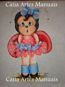 Para as amigas que me pediram as cores que eu usei na pintura... Anotem.... *rosto e corpo: salmão bebê, caramelo, marrom *cabeça e nariz:...