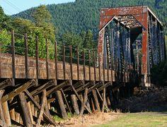 Drain Train Bridge