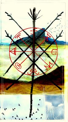 Tarot MAXIMO: Five of Wands. Although the Five of Wands indicates that we will achieve a victory, we have to understand that it will not be simple or easy. The card indicates that we can, and need to, get help - help from outside of our comfort zone and it, in turn, will bring success.