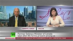 Former Canadian Defense Minister Says Aliens Visiting for Thousands of Years - Global Paranormal