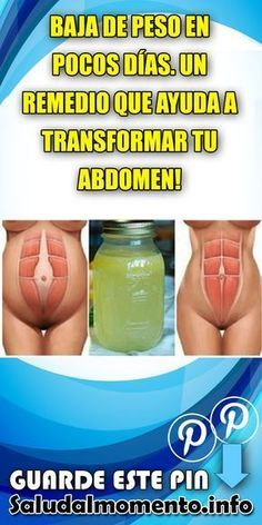 BAJA DE PESO EN POCOS DÍAS. UN REMEDIO QUE AYUDA A TRANSFORMAR TU ABDOMEN! #ABDOMEN #TRANSFORMAR #BAJADEPESO Healthy Juices, Healthy Drinks, Healthy Tips, College Snacks, Green Detox Smoothie, Lose Weight, Weight Loss, Belly Fat Workout, Detox Recipes