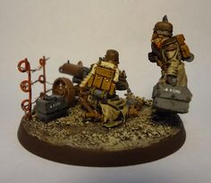 19th Siege Reg. Maxim-Pattern Heavy-Bolter Team.