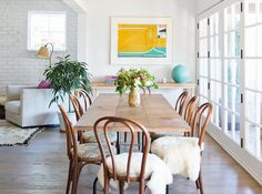 See more images from stylish dining room design ideas on domino.com