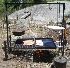 Cowboy (er..girl) Campfire Cooking I want this so bad ...