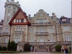 Palacio de la Magdalena en Santander, España