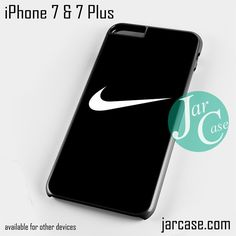 Nike Black Ideal Phone case for iPhone 7 and 7 Plus