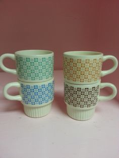 #vintage #coffee #mugs #atomic
