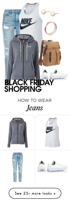 """""""Shop in Comfort and in Style!"""" by tdncreations on Polyvore featuring GRLFRND, NIKE, Under Armour, Vagabond Traveler, Converse and blackfriday"""