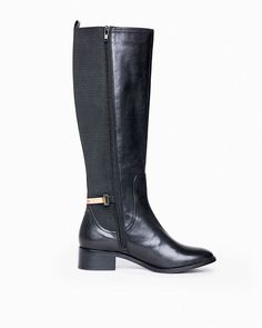 Britt : riding boots - elegance and style found on the detail