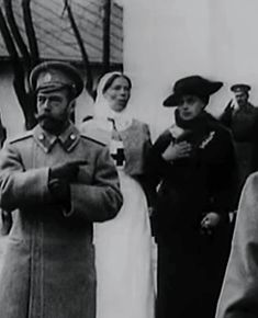 "historyofromanovs: "" teatimeatwinterpalace: "" → Nicholas II kissing his two sisters Grand Duchess Xenia Alexandrovna and Grand Duchess Olga Alexandrovna. "" Notice how Nicky is like *points* ""is this..."