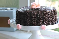 Recipe for ruffle cake.  Follow me on Instagram @passionforbaking   #ruffle…