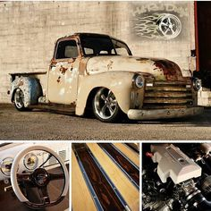 """""""Gunsmoke"""" Slammed 1948 Chevy 3100 FOR SALE ~on eBay Now! Search eBay Item #131709390909 (Direct Link on @HotRodDirty Profile) Hand Polished, Cleared and Buffed Patina Fuel Injected LS Motor, 4L60E Overdrive Automatic Slammed on Modern Chassis w/ 18/20's HIGH END Interior, Deep Glossed Bedwood DRIVE ANYWHERE! Call/Text: 606-776-2886 Email: HotRodDirty@yahoo.com See More at: www.TraditionalHotRod.com Follow: @HotRodDirty @TraditionalHotRod @HotRodDirty @TraditionalHotRod @HotRodDirty @Tradit"""