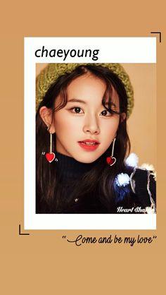 Son Chaeyoung || Chaeyoung Twice || Heart Shaker Lockscreen || Twice Wallpaper || Merry and Happy || Kpop Lockscreen