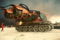 Meet Big Wind: The Ultimate Fire-Fighting Machine Made From MiG Engines & Tank Parts - Mpora