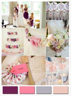 Lindos colores para temas de boda en 2014