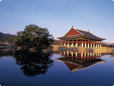 Royal palace in Korea