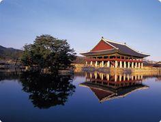 Royal palace in Korea