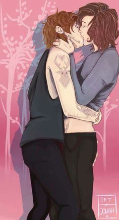 Cute fan art Larry Stylinson