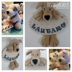 Cartel de nacimiento y souvenirs  #newborn #handmade #nacimiento #souvenirs #bébé #crochet #crochetaddict #crochetersofinstagram #croche #bebe #bienvenido