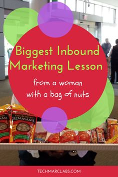 What a woman with a bag of nuts could teach everyone at HubSpot's Inbound Marketing Conference about connecting with customers and personalization. Guerrilla Marketing, Inbound Marketing, Sales And Marketing, Insight, Presentation, Teaching, Tech, Guerilla Marketing, Education