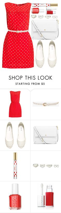"""""""Untitled #3602"""" by natalyasidunova ❤ liked on Polyvore featuring Boutique by Jaeger, Forever 21, H&M, Tory Burch, Marc Jacobs, Charlotte Russe, Essie, Clinique, women's clothing and women"""