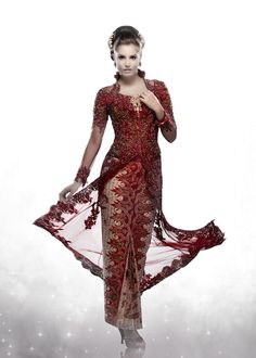 Kebaya in Red