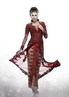 Kebaya in Red