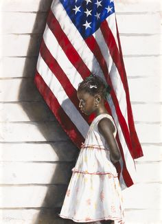 Artist Stephen Scott Young book Includes work created in the Bahamas American Flag Art, African American Art, American Artists, African Art, Watercolor Portraits, Watercolor Paintings, Watercolors, Urban Graffiti, Young Art