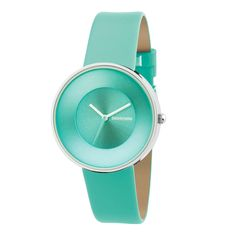Italian for heavenly, the Cielo watch is inspired by the 1960s and the heyday of the Lambretta scooter. #Womens #Turquoise #Watch - @KrisParkerson - will this one work for you?