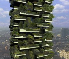 vertical forest- residential buildings to come in Italy
