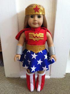 Super Hero Costume Wonder Woman parody for 18 by geiserweaver, $15.95