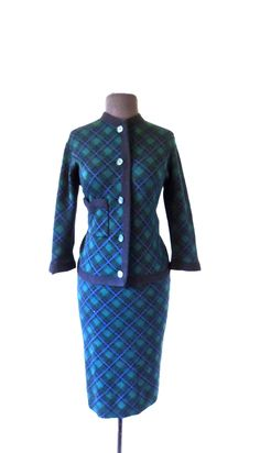 A personal favorite from my Etsy shop https://www.etsy.com/listing/460667690/vintage-wool-skirt-suit-1940s-50s-sator