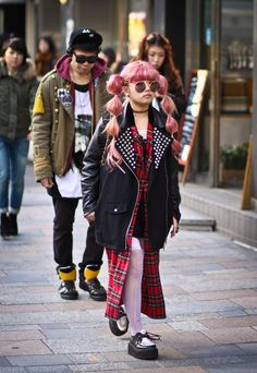 Harajuku street fashion | Harajuku. :-)                                                                                                                                                                                 More